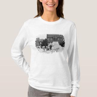 T-shirt Vue de Schweidnitz, Breslau Pologne, c.1910