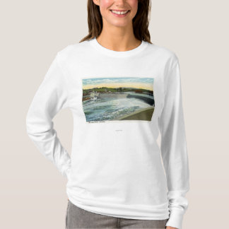 T-shirt Vue du barrage de Libby-Dingleys