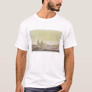 T-shirt Vue du carré principal à Mexico (l'anglais de