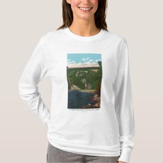 T-shirt Vue du pont des USA Hwy, itinéraire 9