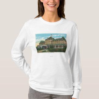 T-shirt Vue extérieure de l'abîme d'Ausable d'hôtel