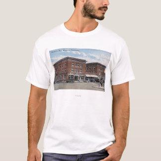 T-shirt Vue extérieure de l'hôtel de Wenatchee