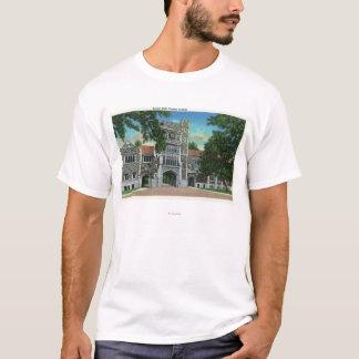T-shirt Vue extérieure de Taylor Hall, université de