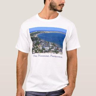 T-shirt Vue Truro de monument de Provincetown