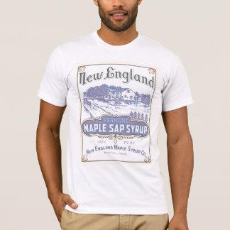 T-shirt W du m d'érable de la Nouvelle Angleterre