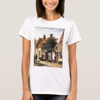 T-shirt Walstraatje dans Harderwijk par Cornelis Springer