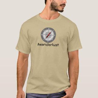T-shirt #wanderlust