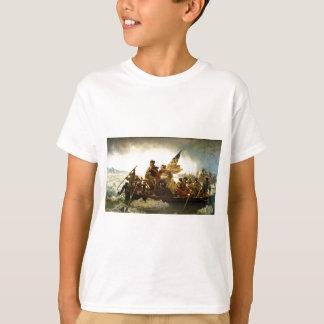 T-shirt Washington croisant le Delaware par Emanuel Leutze