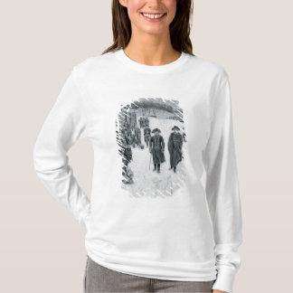 T-shirt Washington et Steuben à la forge de vallée