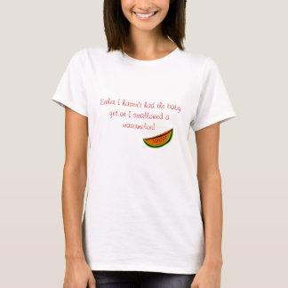 T-shirt Watermelon2, ou je n'ai pas eu le bébé pourtant…