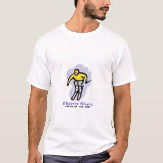 T-shirt Week-end glissant 2005 de ski de pentes