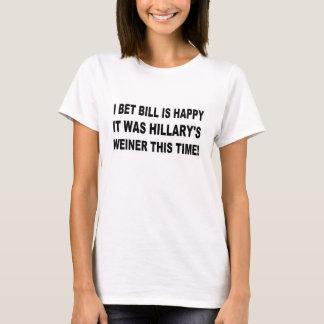 T-shirt Weiner de Hillary