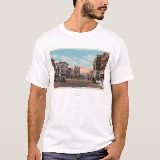 T-shirt Wenatchee, vue de WAStreet d'avenue de Wenatchee