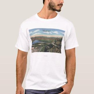 T-shirt Wenatchee, WashingtonView d'Ohme fait du jardinage