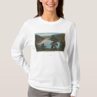 T-shirt Wenatchee, WAView de lac Chelan