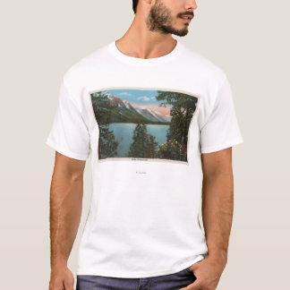 T-shirt Wenatchee, WAView de lac Wenatchee