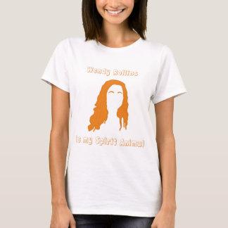 T-shirt Wendy Rollins est mon animal d'esprit