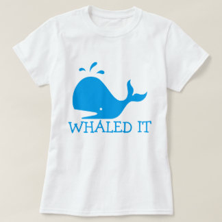 T-shirt Whaled il