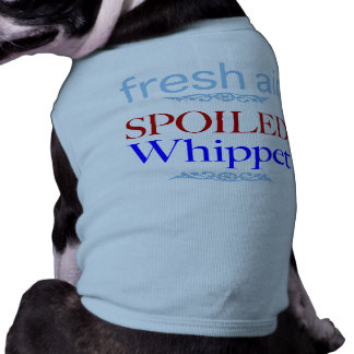 T-shirt whippet corrompu