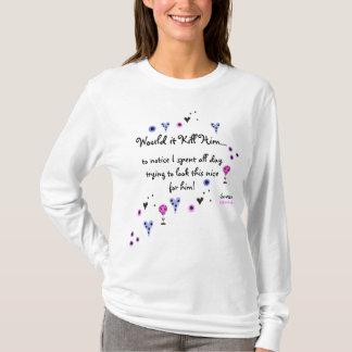 T-shirt WIKH Ser#120 ME RECONNAISSENT DÉJÀ !