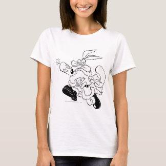 T-shirt Wile E. Coyote Père Noël avec de la dynamite