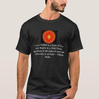 """T-shirt William Blake """"monde citation dans grain de sable"""""""