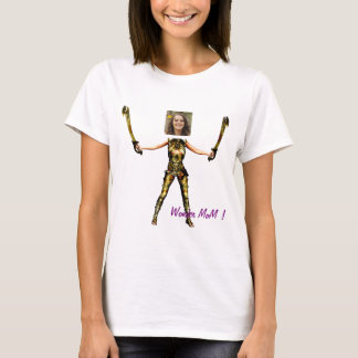 T-shirt Wonder Fairy Princess, Swords - Insert YOUR Photo-