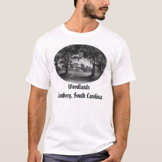 T-shirt woodlands2, régions boisées Bamberg, la Caroline
