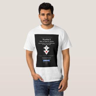 T-shirt Workin 9 neuf de neuf 81 Muses