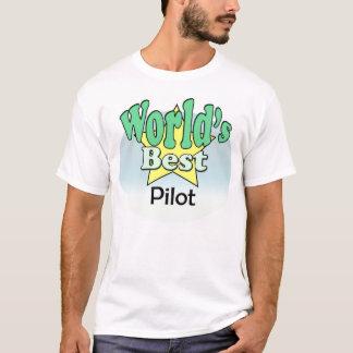 T-shirt World's le mieux pilote