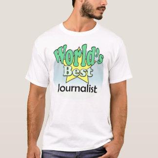 T-shirt World's meilleur le journaliste