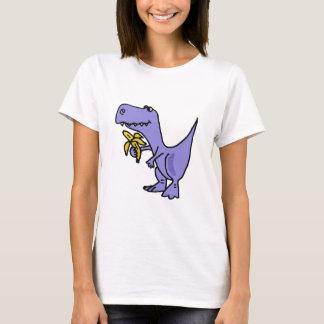 T-shirt XX dinosaure de T-Rex mangeant la bande dessinée