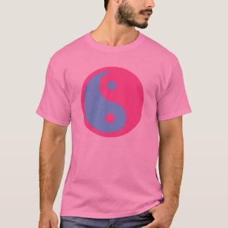T-shirt Yin et symbole de transsexuel de Yang