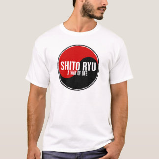 T-shirt Ying Yang SHITO RYU 1,1