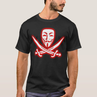 T-shirt YourAnon (ROUGE)