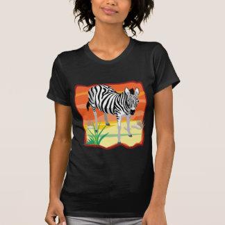 T-shirt Zèbre africain