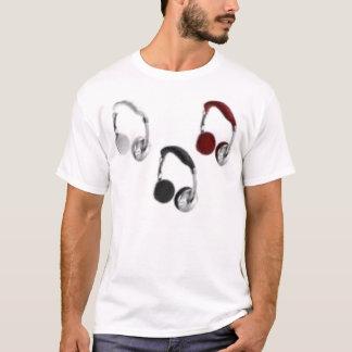 T-shirt zéphyr d'écouteur