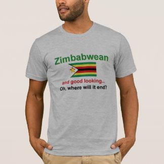 T-shirt Zimbabwéen beau