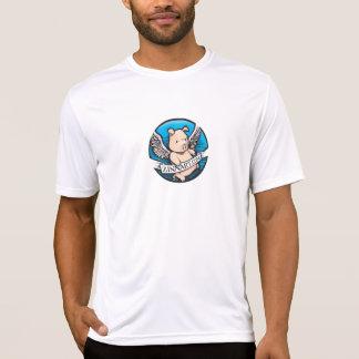 T-shirt Zinnart.com pilotant le logo de porc