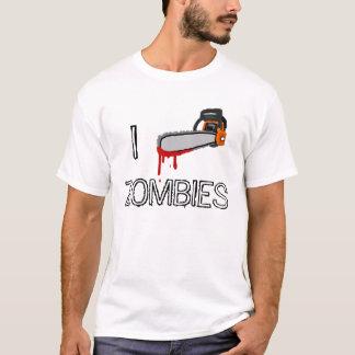 T-shirt zombis de la tronçonneuse i