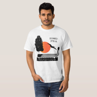 T-shirt ZOMG ! c'est un ptérodactyle - pièce en t de
