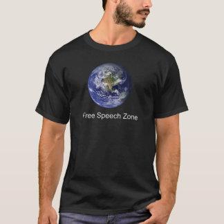 T-shirt Zone de liberté de parole