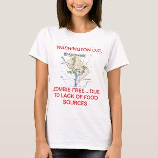 T-SHIRT ZONE FRANCHE DE WASHINGTON D.C. ZOMBIE