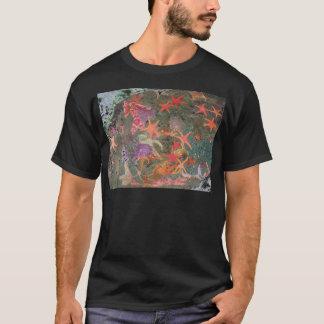 T-shirts coloré d'étoiles de mer
