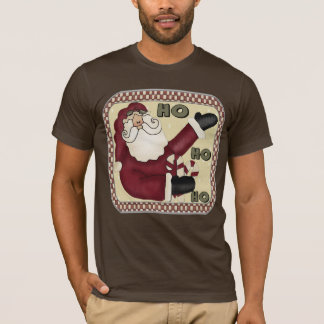 T-shirts de Père Noël de pays