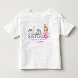 T-shirts de princesse grande soeur de licorne