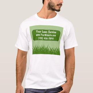 T-shirts de service de pelouse