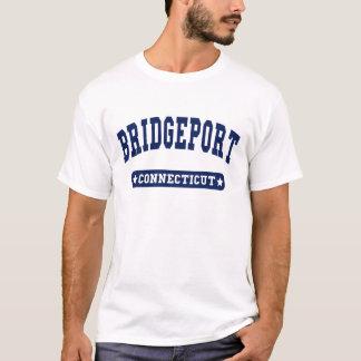 T-shirts de style d'université de Bridgeport le