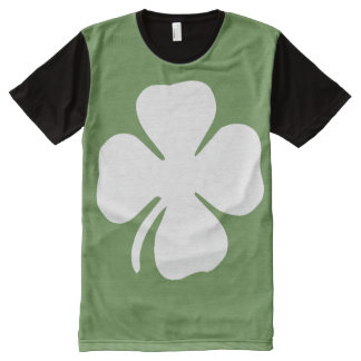 T-shirts de trèfle de congé du jour quatre de St