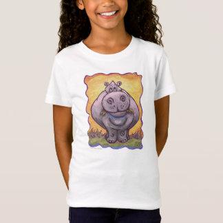 T-shirts d'hippopotame